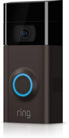 Een deurbel met camera. Inclusief notificaties op de telefoon.