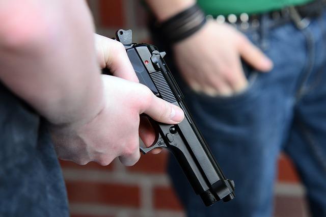 wapen gebruiken bij terroristische aanslag