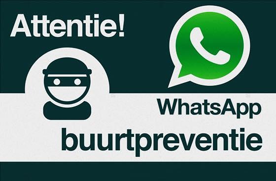 buurtpreventie WhatsApp