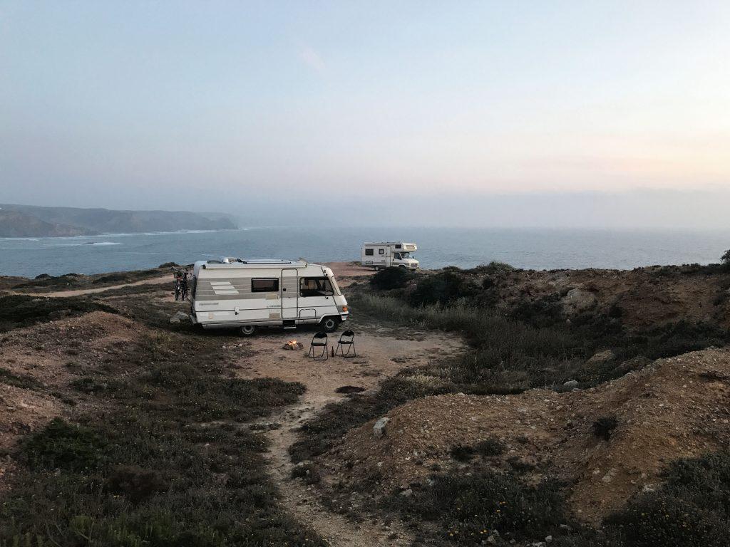 inklimmers in camper