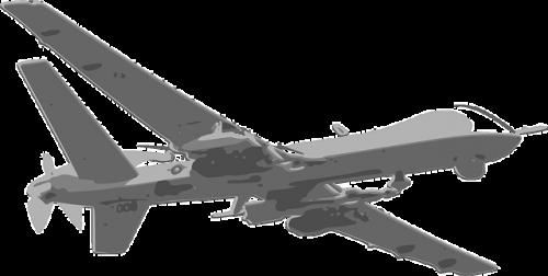 Militaire drone, drones en de beveiliging