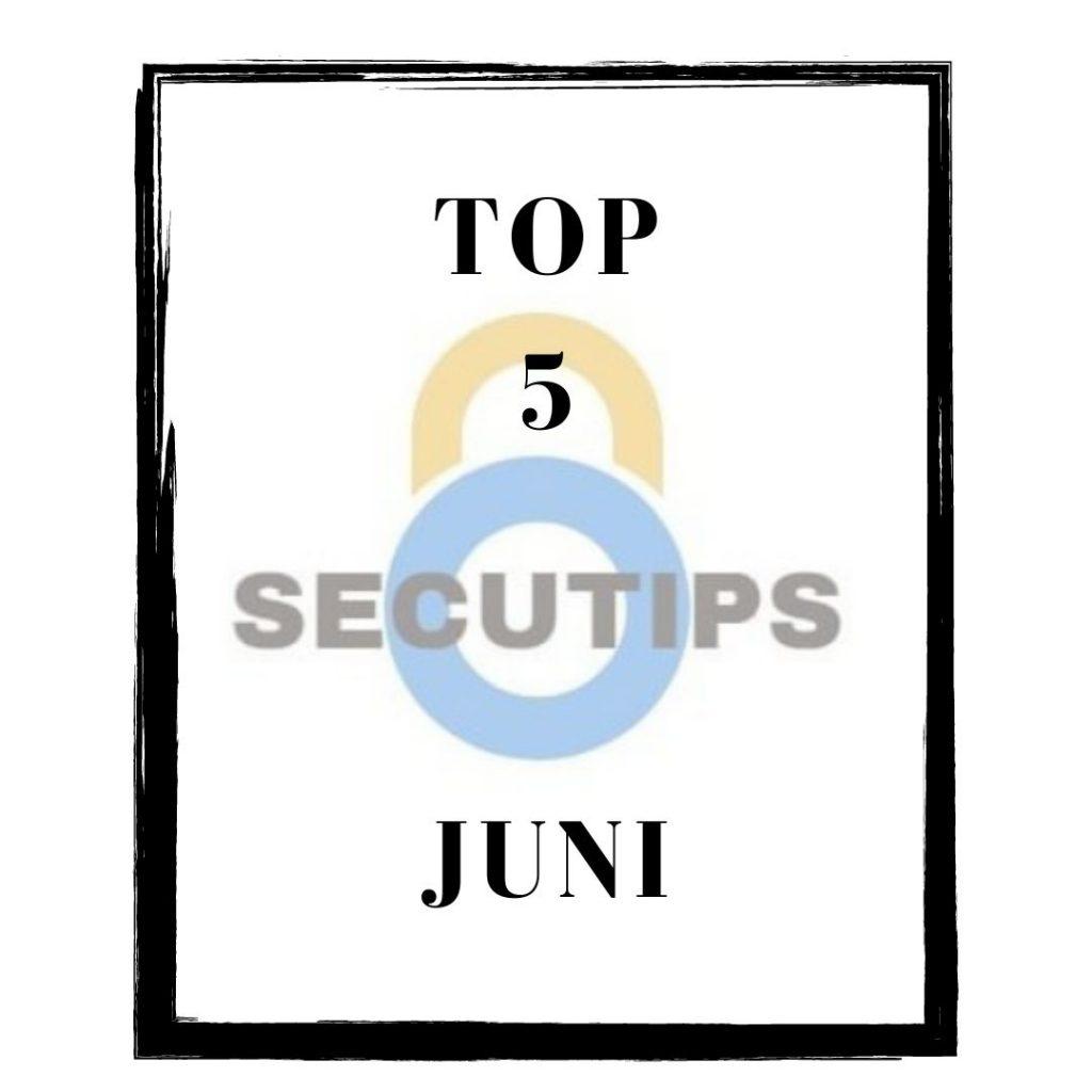 top 5 best gelezen artikelen in juni 2020