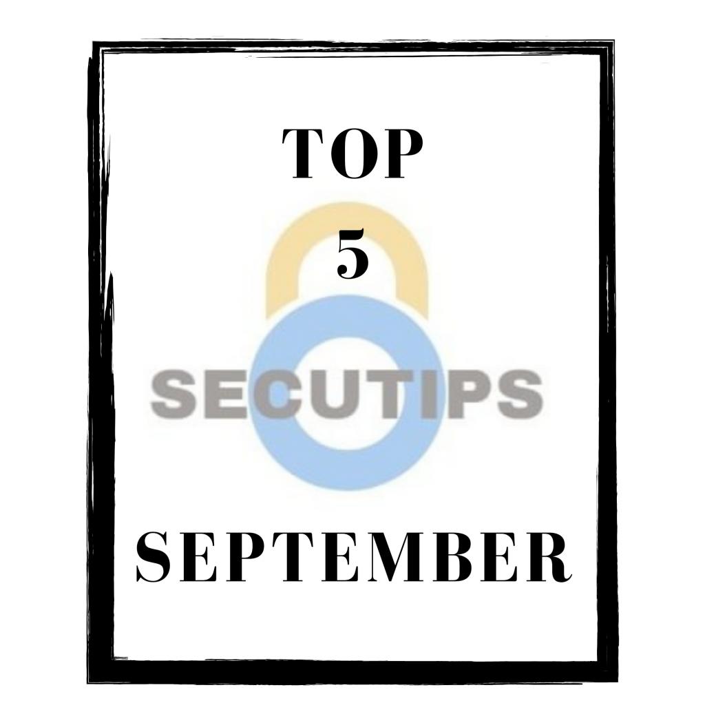 top 5 september