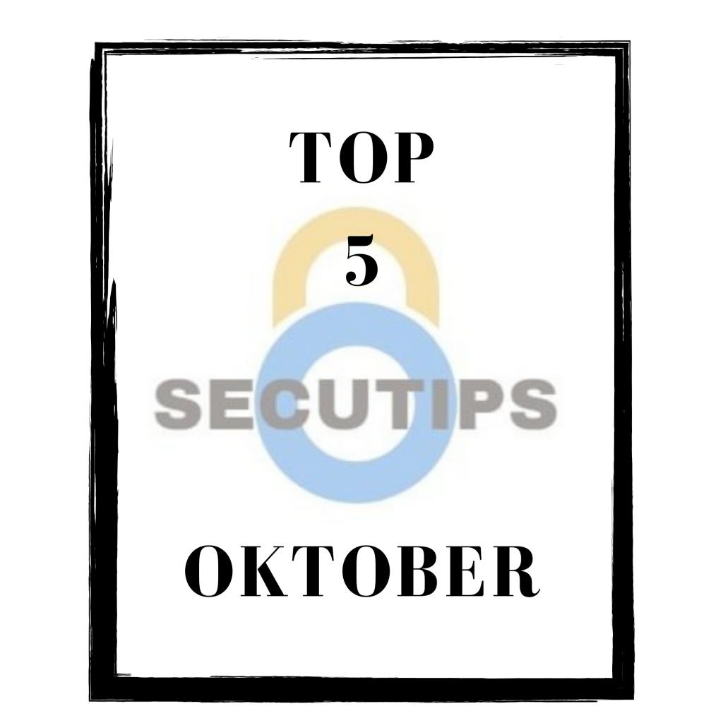 Top 5 oktober