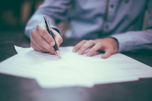 contract tekenen sollicitant