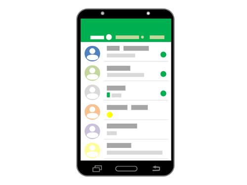 Whatsapp. Het risico van een screenshot