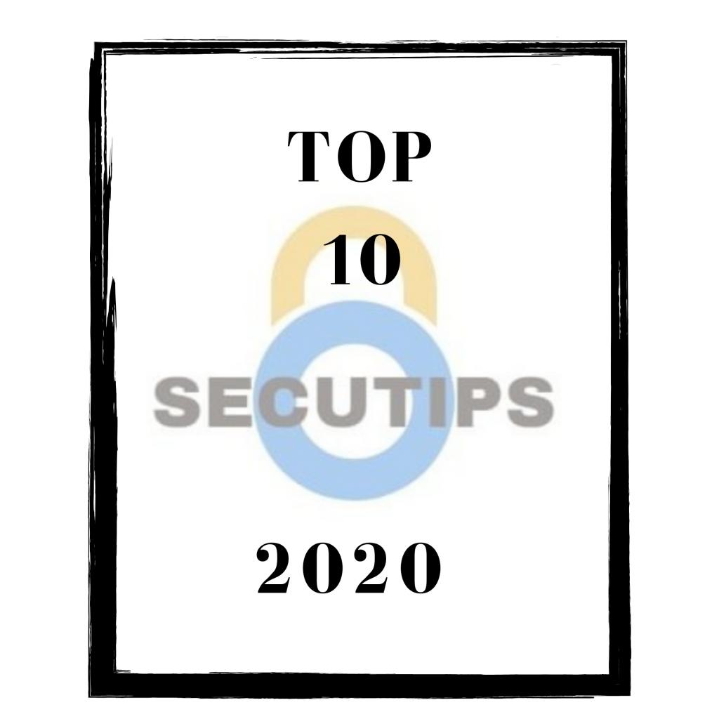 Top 10 van 2020