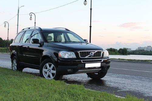 Diefstal koplampen Volvo