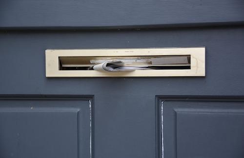 beveiliging brievenbus